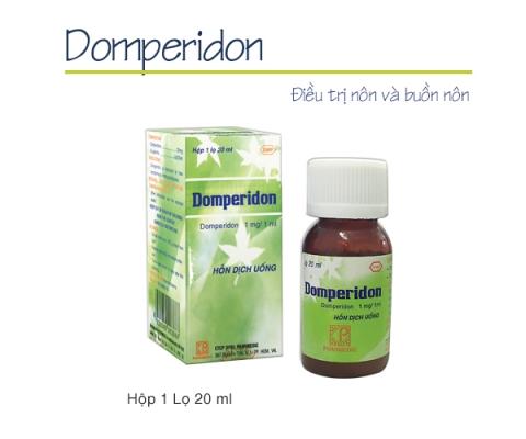 DOMPERIDON (Hỗn hợp dịch uống) kể từ lô 0020919 sẽ thay đổi mẫu toa theo TT01/18 (hình ảnh đính kèm)